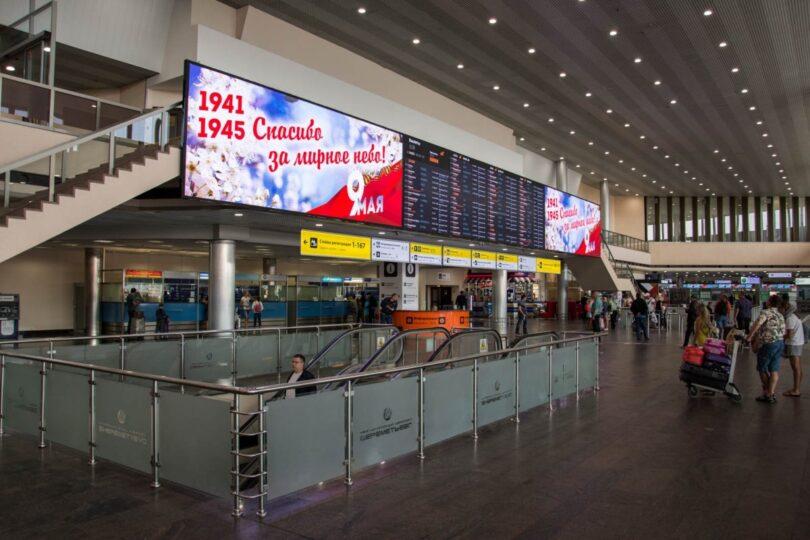 Zračna luka Sheremetyevo nudi posebne usluge preživjelima iz Drugog svjetskog rata tijekom proslave Dana pobjede