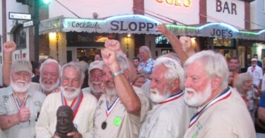 Hemingway Look-Alike Contest ka hoki ki Key West