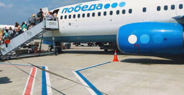 ავიაბილეთები Pobeda იწყებს სრულმასშტაბიანი ფრენის პროგრამას მოსკოვის შერემეტიევის აეროპორტიდან