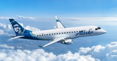 Alaska Air Group bestiller 9 nye Embraer E175-fly til drift med Horizon Air
