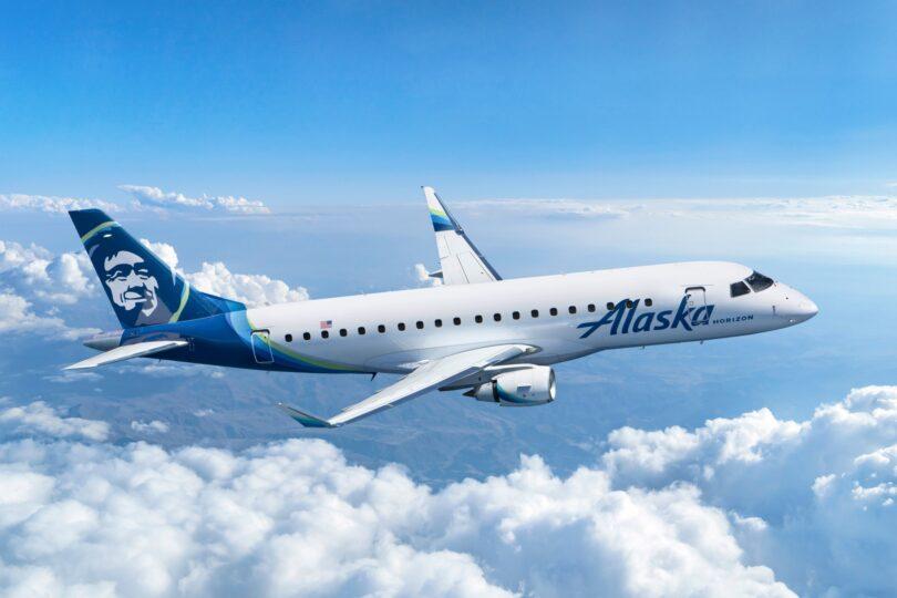 طلبت Alaska Air Group 9 طائرات جديدة من طراز Embraer E175 للعمل مع Horizon Air