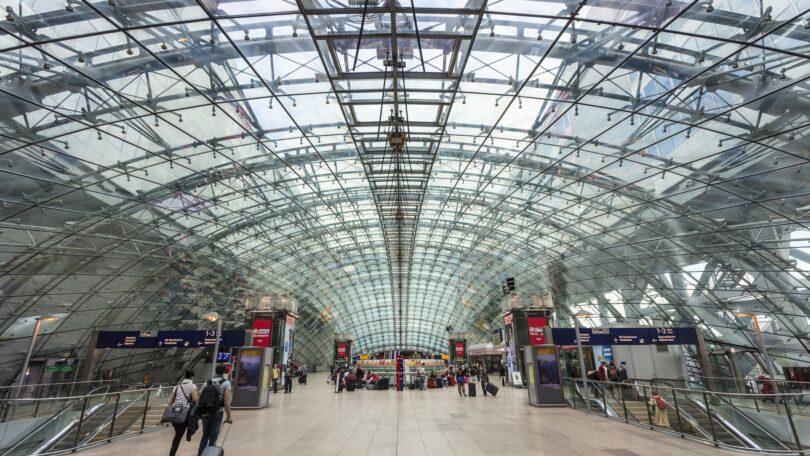 لا تزال حركة الركاب منخفضة في مطار فرانكفورت في أبريل 2021