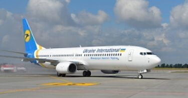 Manafoana ny sidina Tel Aviv ny Ukraine International Airlines