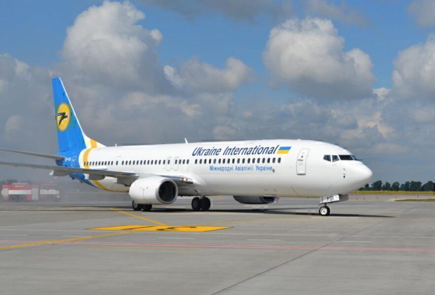우크라이나 국제 항공, 텔 아비브 항공편 취소