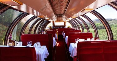 The Napa Valley Wine Train reopens on May 17