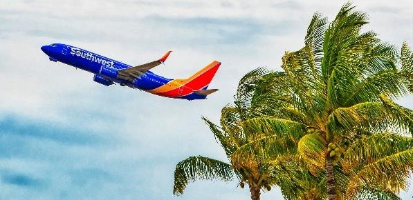 Southwest Airlines пуска нови полети за Хавай от Лас Вегас, Лос Анджелис и Финикс
