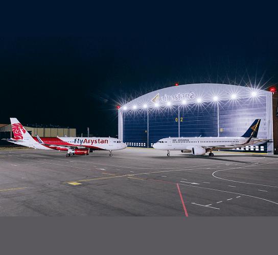 A Air Astana do Cazaquistão marca 19º aniversário