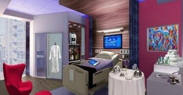 لماذا لا يكون المستشفى أشبه بالفندق؟