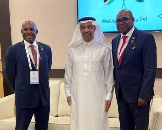 ジャマイカの大臣がサウジアラビアの投資大臣と投資について話し合う