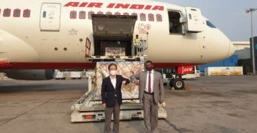 Korea special delivery lands in India
