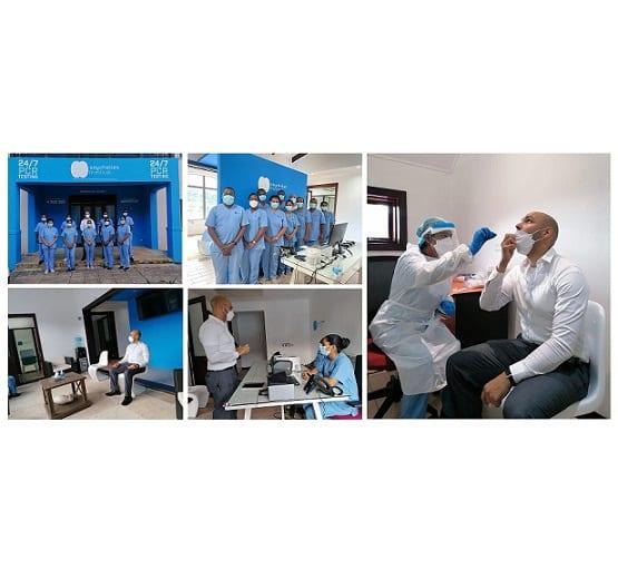 सेशेल्समधील नवीन 24/7 कोविड -१ testing चाचणी प्रयोगशाळा प्रवाशांना अधिक पर्याय देते