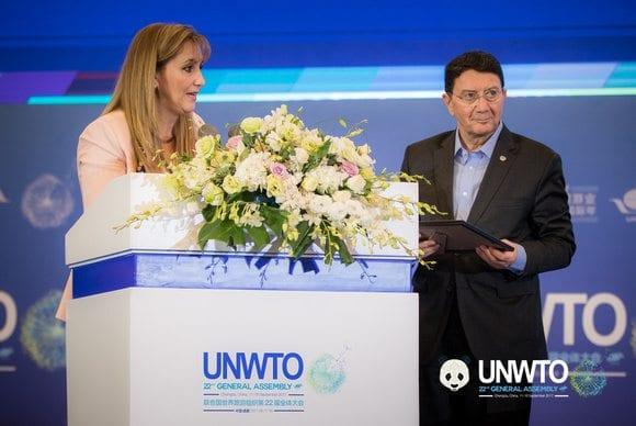 استخدم FITUR والحكومة الإسبانية مرة أخرى لآلة دعاية منظمة السياحة العالمية