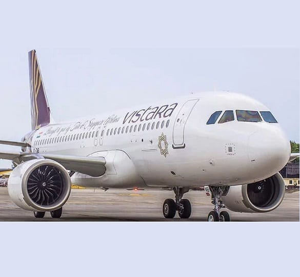 Aiheuttaako Intia Vistaran lentoyhtiön palvelun häiriön Tokioon?