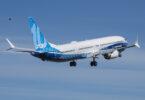 بوئنگ 737 میکس فیملی کا سب سے بڑا طیارہ پہلی کامیاب کامیابی سے مکمل ہوا