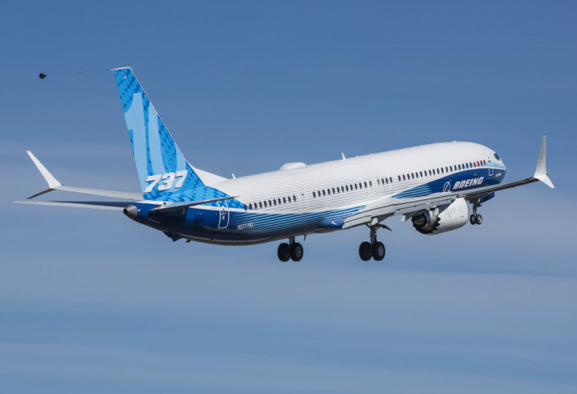 Grutste fleantúch yn 'e famylje Boeing 737 MAX foltôget suksesfolle earste flecht