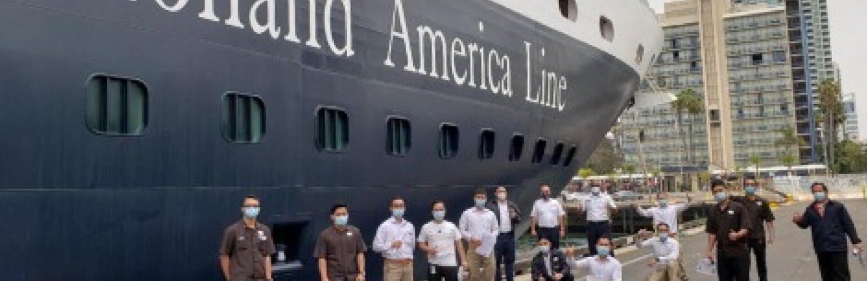 Holland America Line: San-Diyegodan ikkita kema, bu kuzda Fort-Loderdeyldan suzib ketayotgan to'rtta kema