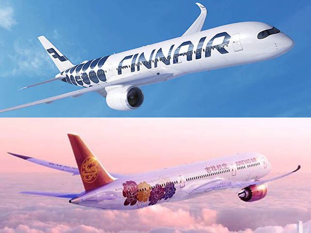 Finnair collabora con Juneyao Air sulla rotta Helsinki-Shanghai e oltre