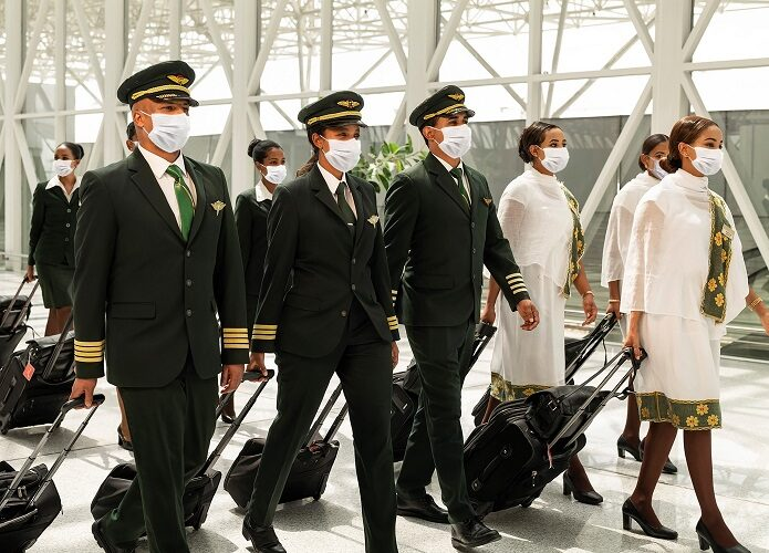 Ethiopian Airlines to'liq vaktsinalangan ekipaj bilan parvozlarni amalga oshirishni boshlaydi