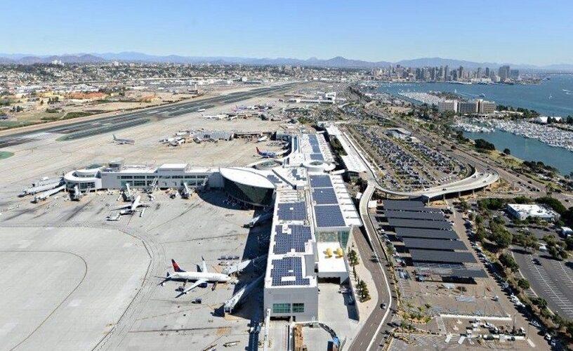 San-Diego xalqaro aeroporti 100 foiz toza, qayta tiklanadigan energiyani o'z zimmasiga oladi
