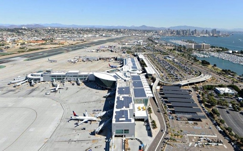 San Diego rahvusvaheline lennujaam pühendub sajaprotsendiliselt puhtale taastuvenergiale