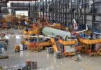 Èrbus lanse A320 fuselage ekipe pwojè nan Lachin