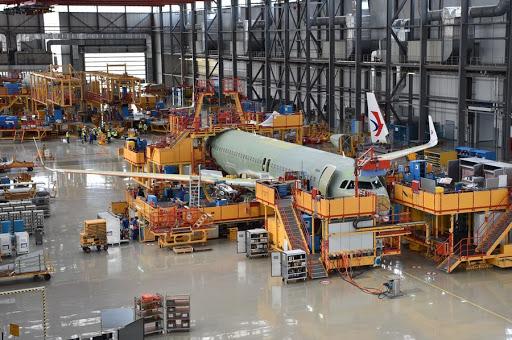 Airbus lancia il progetto di equipaggiamento della fusoliera dell'A320 in Cina