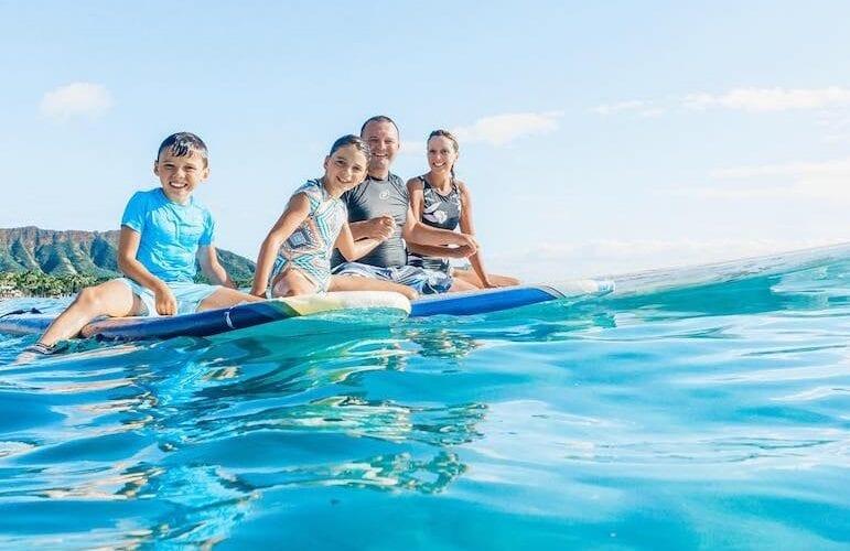 Waikiki ble kronet 2021 som den mest familievennlige destinasjonen i USA