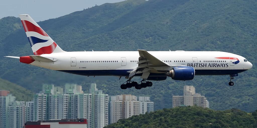 Ekstreme alta risko: Honkongo malpermesas ĉiujn pasaĝerajn flugojn de Britio