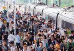 Číňania podniknú počas letného zhonu cestovania 750 miliónov železničných výletov