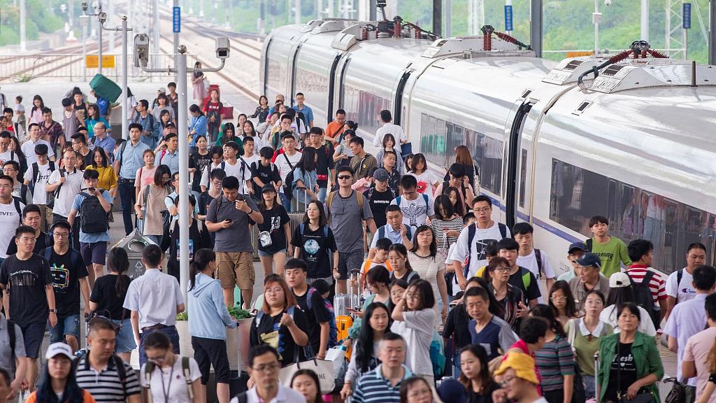 Os chineses farão 750 milhões de viagens ferroviárias durante a corrida do verão