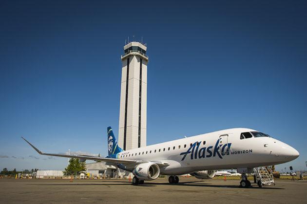 Spoločnosť Aljaška Airlines obnoví celý letový poriadok na letisku Paine Field do jari 2022