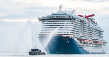 Mardi Gras van Carnival Cruise Line maakt debuut in de VS