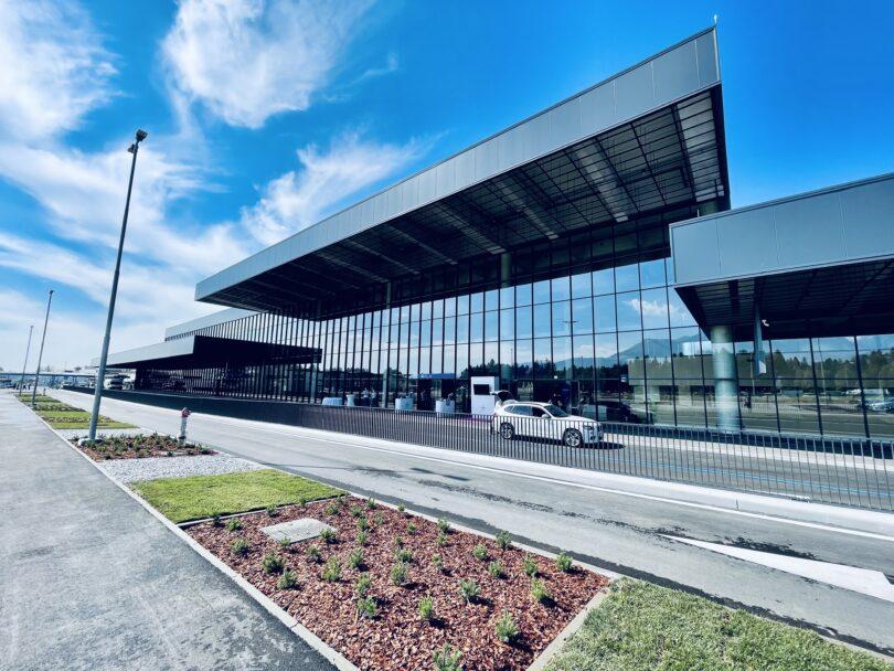 Fraport khánh thành nhà ga hành khách mới ở Ljubljana