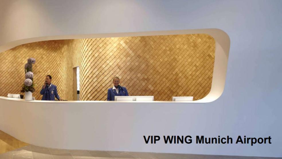 De eksklusive VIP Terminal fan 'e fleanbasis fan München iepent wer