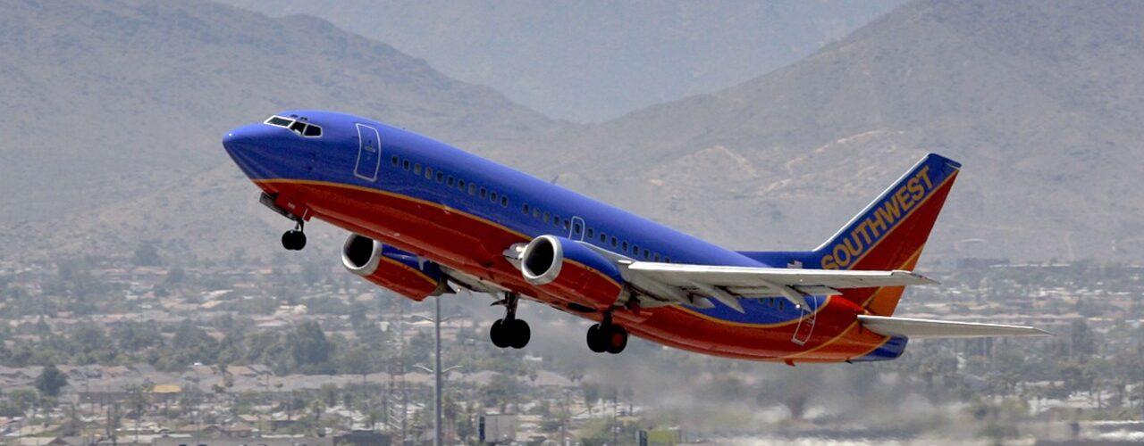 Ny sidina tsy an-kiato any Kansas City mankany Cancun ao amin'ny Southwest Airlines