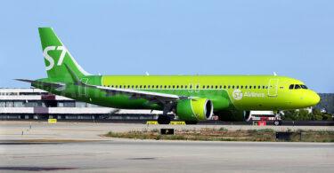 Jérman nolak idin pikeun dua hiber Rusia S7 Airlines
