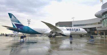 Faʻalele mai Calgary i Amsterdam faʻalauiloa e WestJet