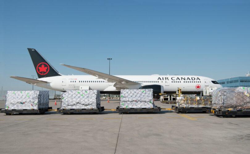 Air Canada Cargo kundigt lansearrûtes oan foar har nije frachtskip