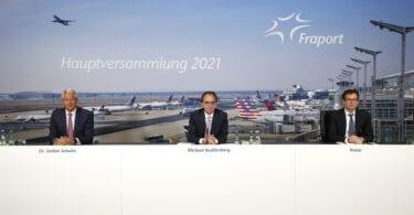 Годишното общо събрание на Fraport 2021 се провежда практически отново