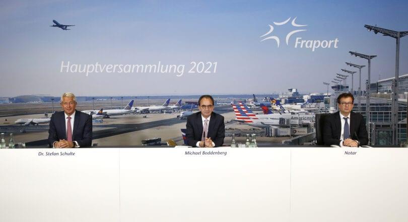 فراپورٹ کی سالانہ عمومی میٹنگ 2021 کو عملی طور پر ایک بار پھر منعقد کیا جارہا ہے