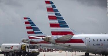 Прогноза за отмяна на полет на American Airlines