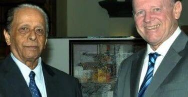 افریقی سیاحت بورڈ کے صدر ماریشیس کے سابق وزیر اعظم کے انتقال پر ہمدردی بھیج رہے ہیں