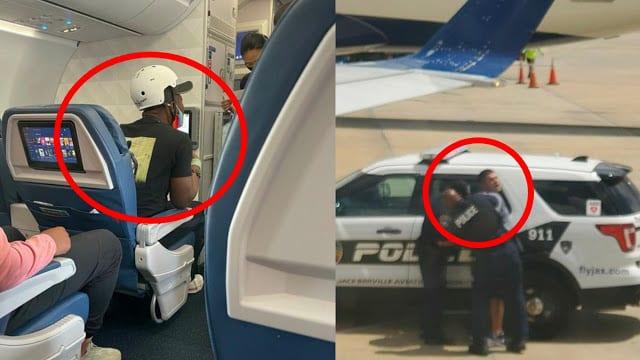 Peserta Penerbangan Delta Airlines tekad kanggo nabrak DL 1730 saka LAX menyang ATL
