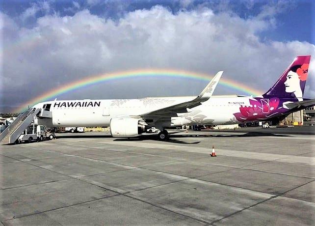Hawaiian Airlines bringt Flüge nach Tahiti . zurück