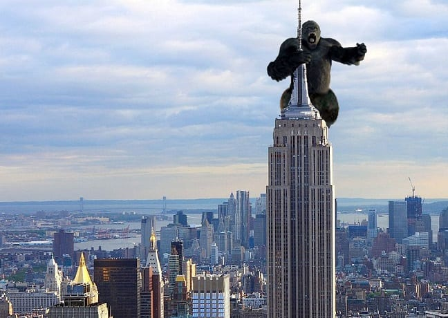 Empire State Building King Kong lest