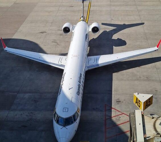 20 vuoden tauko on päättynyt! Uganda Airlines lentää jälleen Johannesburgiin