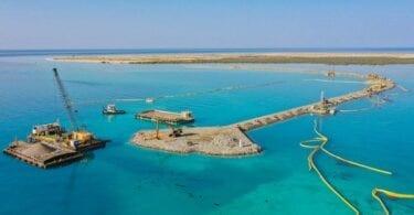 Společnost Red Sea Development Company: ARCHIRODON postaví most na hlavní turistický uzel ostrov Shurayrah