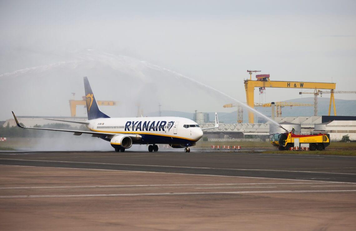 Ryanair verliebt sich wieder in Belfast