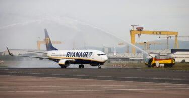 Ryanair отново се влюбва в Белфаст