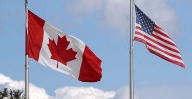 امریکہ - کینیڈا کی سرحد ایک راستے پر دوبارہ کھول رہی ہے